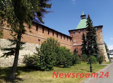 Круговой маршрут по стенам Нижегородского кремля откроют в августе