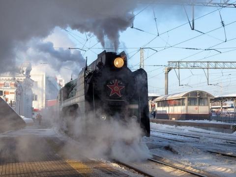 Ретро-поезд привез московских туристов в Нижний Новгород