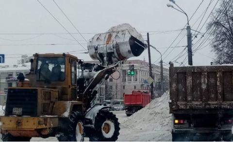 План уборки улиц от снега 27 февраля сформирован в Нижнем Новгороде