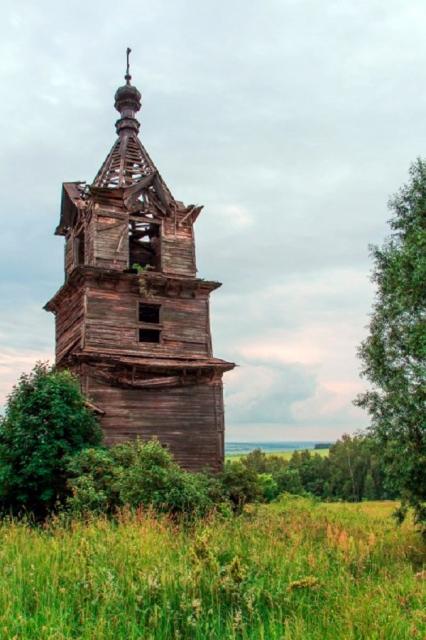 Деревянный храм середины 19 века сожгли в Лысковском районе