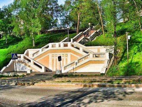 Театральную лестницу в Нижнем Новгороде отремонтируют за 2 млн рублей в 2021 году