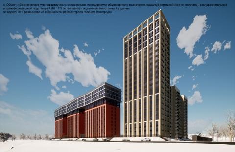 Многоэтажку с котельной и паркингом возведут в Ленинском районе Нижнего Новгорода