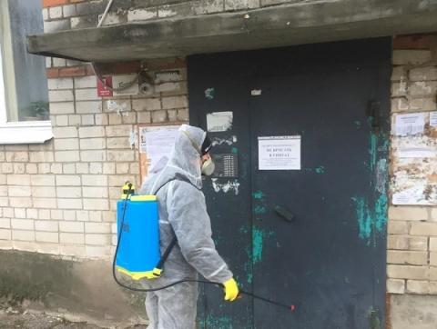 ДУКи Нижнего Новгорода обрабатывают против вирусов по 5 тысяч этажей в день