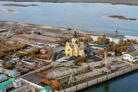 Первая часть Стрелки откроется в Нижнем Новгороде в конце августа