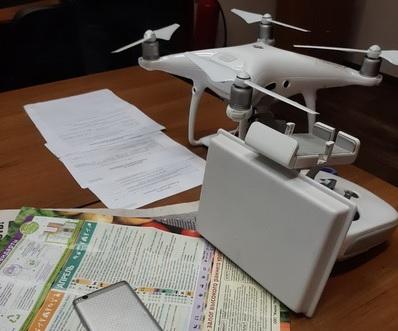 Квадрокоптер с телефонами сбит над ИК-7 в Нижегородской области