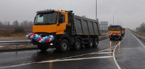 Дорогу Неклюдово – Золотово открыли в Нижегородской области 23 октября