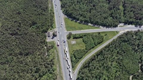 Схема движения на трассе М-7 изменится в Нижегородской области в январе