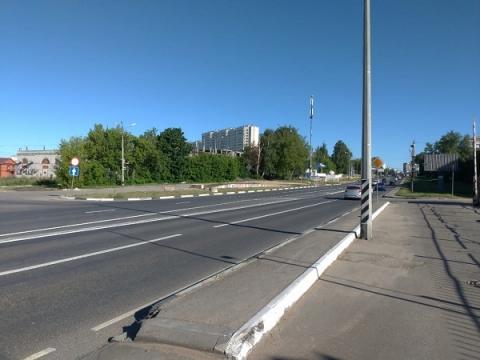 Пробки на Казанском шоссе сократились на километр после введения новых полос