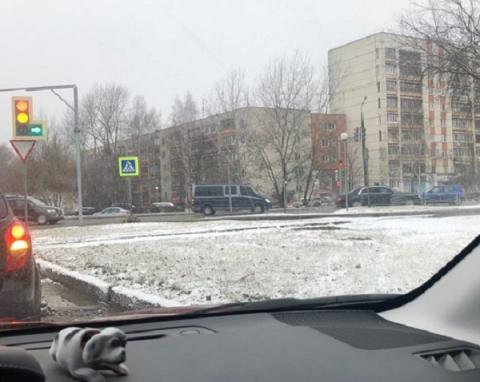 Президентский кортеж заметили жители на дорогах Сарова