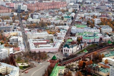 Движение транспорта закроют в центре Нижнего Новгорода с 10 по 20 мая