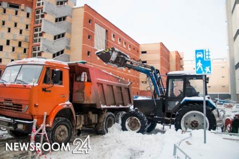 Мэрия опубликовала график уборки снега в Нижнем Новгороде 14 марта