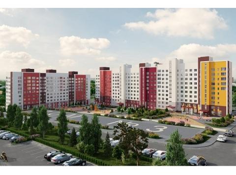 Еще 16 домов построят на территории ЖК в Советском районе до 2025 года
