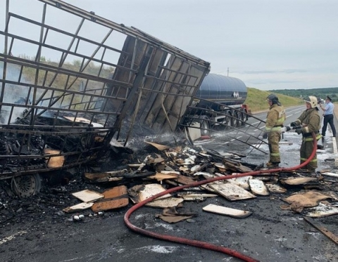 Появились подробности смертельного ДТП с пожаром в Кстовском районе