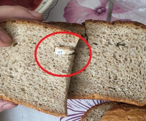Хлеб с «бычком» от сигареты продавался в Балахне