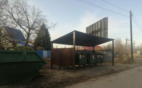 Несанкционированные свалки в поселке Стригино устранены