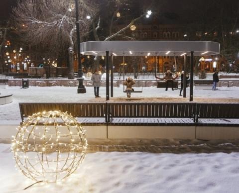 Три площадки в Нижнем Новгороде открылись после благоустройства к 800-летию