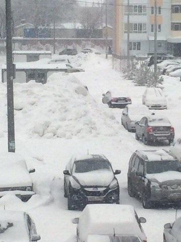 Снегопады в Нижнем Новгороде в феврале стали сильнейшими в истории