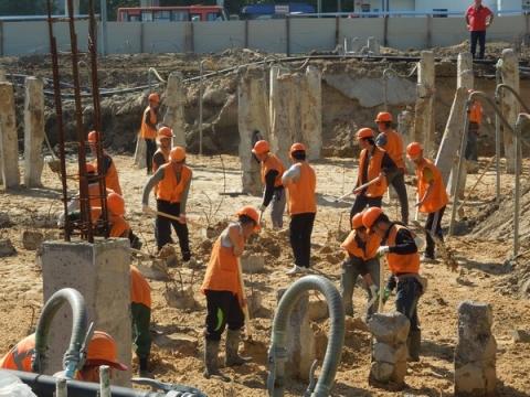 Объем строительных работ в Нижегородской области увеличился на 16%