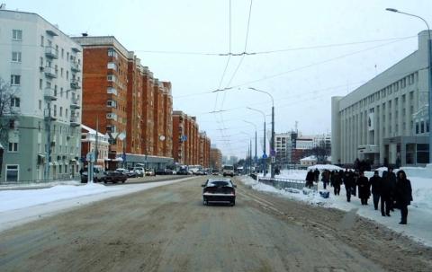 «Вафельную» разметку планируется нанести на перекрестках в Нижнем Новгороде до 2024 года
