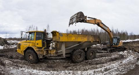 Нижегородские дорожники  объявили на строящейся трассе М-12 забастовку из-за зарплат