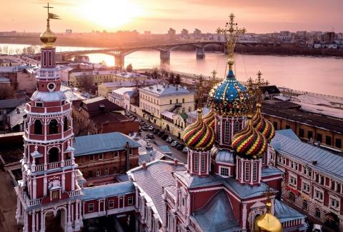 Слет Российского союза туриндустрии открылся в Нижнем Новгороде 11 мая