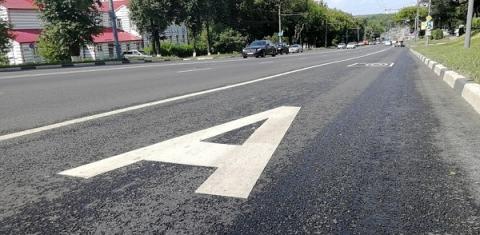 Еще одна выделенная полоса заработает на проспекте Гагарина в Нижнем Новгороде