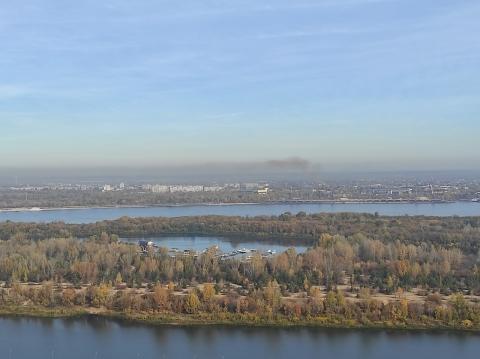 Нижегородцы пожаловались на запах гари и смог в Сормове