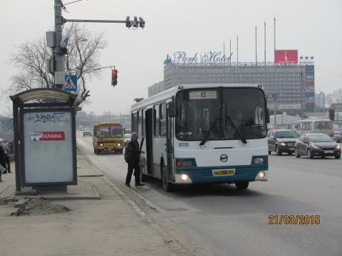Две выделенные полосы для автобусов заработали в Нижнем Новгороде в мае