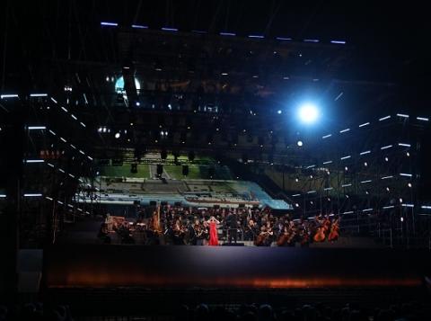 Чкаловская лестница открылась концертом симфонического оркестра Мариинки 1 августа