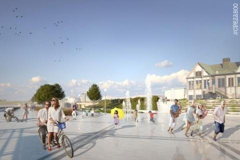 «Нижновэнерго» подключило электроснабжение фонтана на Нижне-Волжской набережной