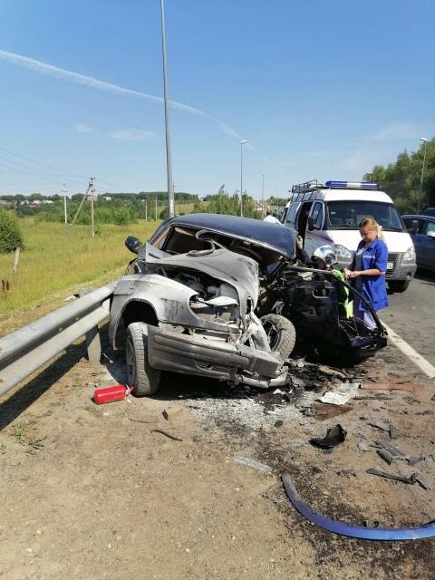 37-летний мужчина погиб в ДТП на М-7 в Нижегородской области 17 июля