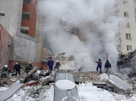 Приведшая к взрыву в Нижнем Новгороде утечка газа произошла из-за повреждения газопровода
