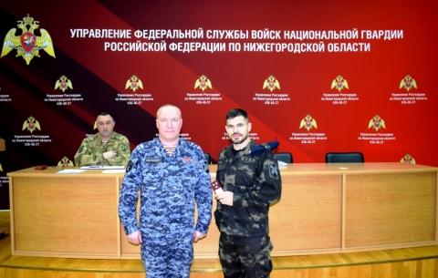 Сотрудник нижегородского СОБР возглавит спецподразделение Росгвардии в Иванове