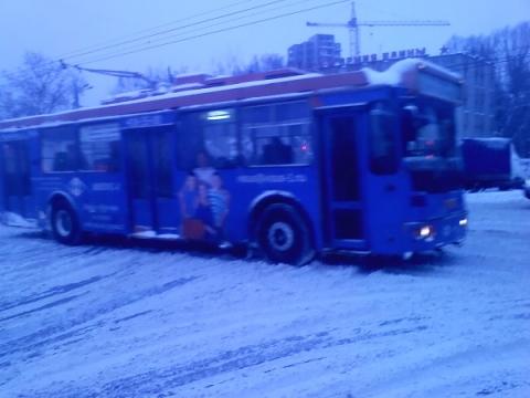 Движение троллейбусов по проспекту Октября в Нижнем Новгороде  временно прекращено