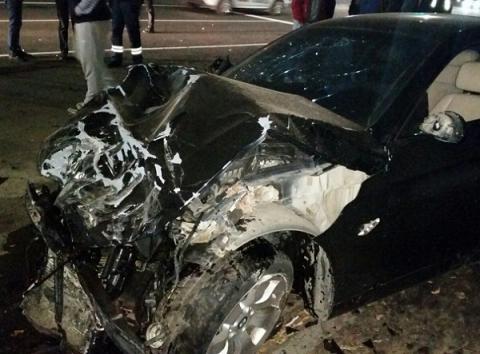 Опубликованы фото с места смертельного ДТП с BMW и «Ладой» в Дзержинске