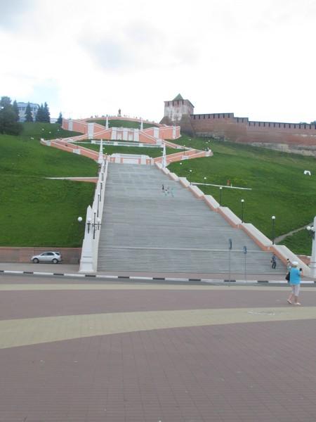 Чкаловская лестница откроется после реконструкции в Нижнем Новгороде 1 августа
