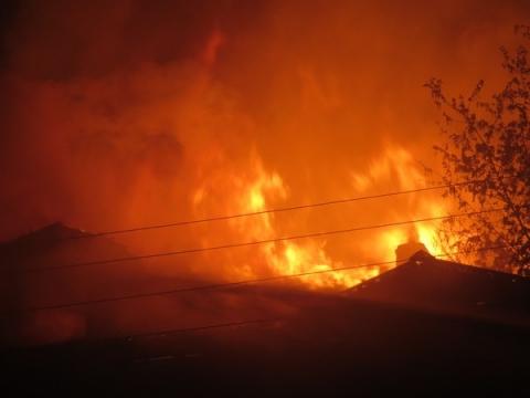 В Павлове два человека погибли при пожаре в бане 7 февраля