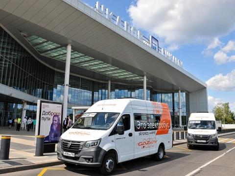Электробусы GAZelle e-NN запустили до аэропорта в Нижнем Новгороде