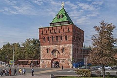 Дмитриевскую  башню Нижегородского кремля отреставрируют за 47 млн рублей