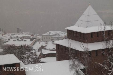 Перепады температур и снегопады ждут нижегородцев на этой неделе