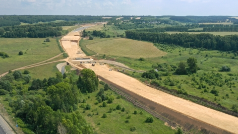 Строительство двух этапов IV очереди Южного обхода Нижнего Новгорода выполнено на 33%