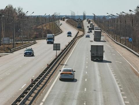 Движение по трассе М-7 в Володарском районе ограничат с 19 апреля из-за ремонта