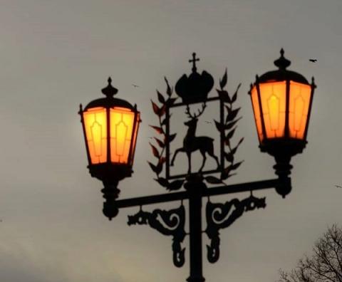 Уличное освещение восстановлено во дворах двух жилых домов в Нижнем Новгороде