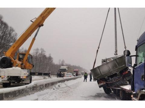 Движение по М-7 в Нижегородской области восстановлено после ДТП