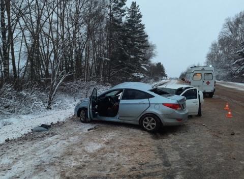 Один человек погиб и три пострадали в ДТП в Уренском районе 29 ноября