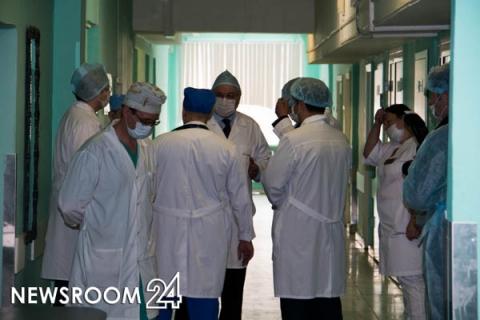 Рекордная суточная госпитализация пациентов с коронавирусом отмечена в Нижегородской области