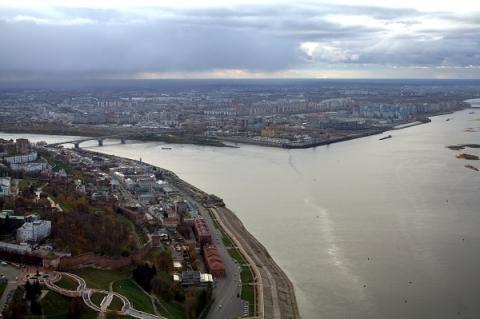 Улицы в 5 районах Нижнего Новгорода оказались под угрозой подтопления