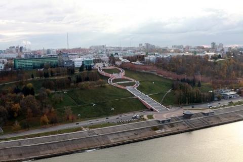 Чкаловскую лестницу уберегут от разрушений за 66,6 млн рублей