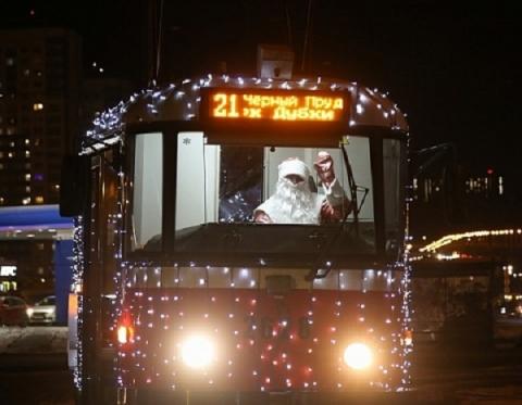 Опубликован график движения новогодних трамваев в Нижнем Новгороде