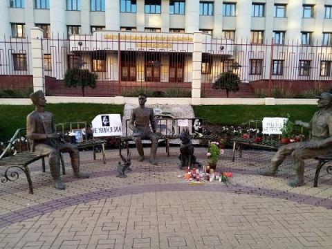 Никитин осудил зачистку мемориала в честь Ирины Славиной